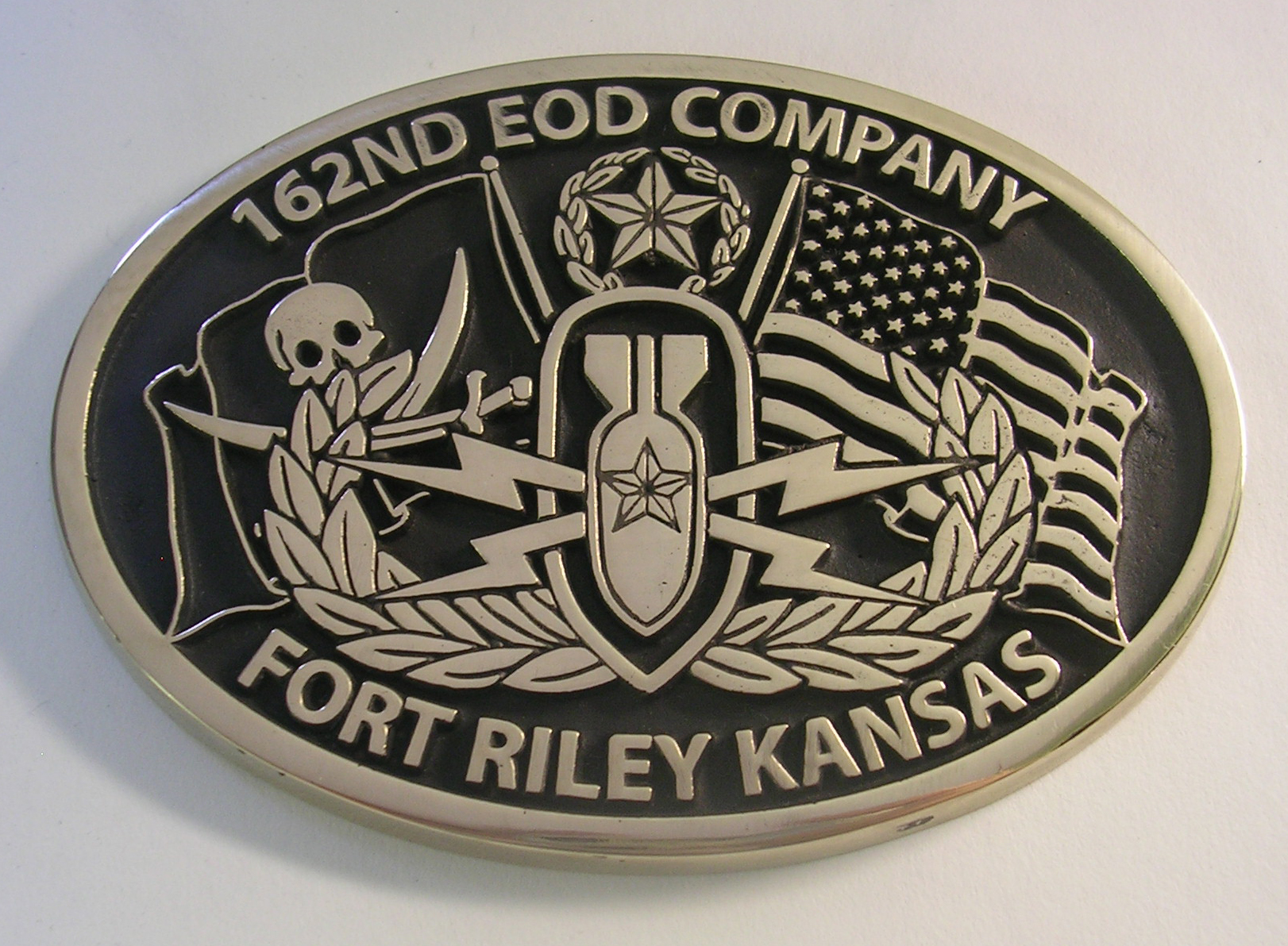 162nd EOD Buckle