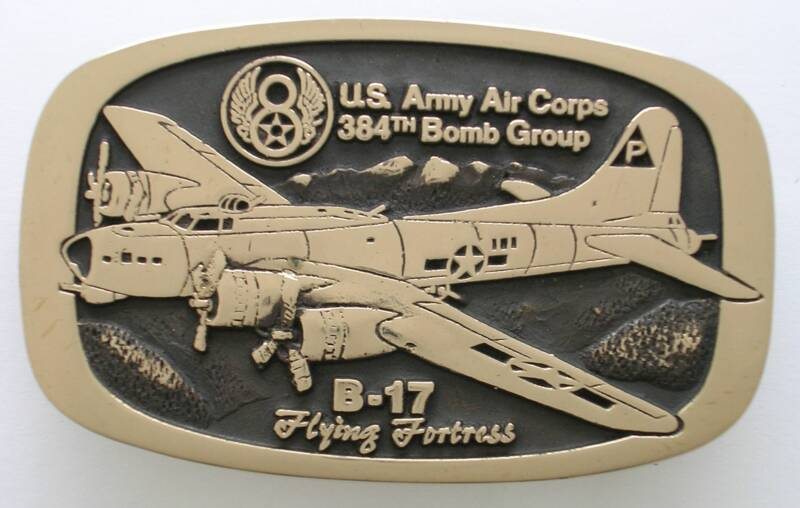 B-17 Flying Fortress Belt Buckle
