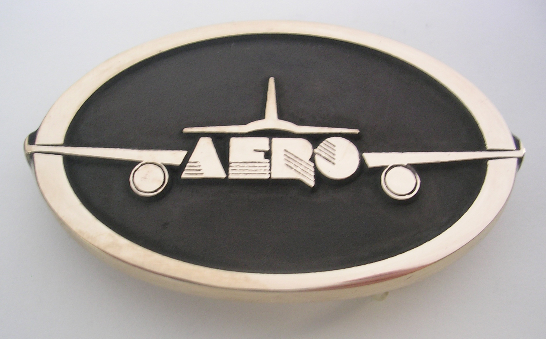 Aero Aviation Belt Buckle