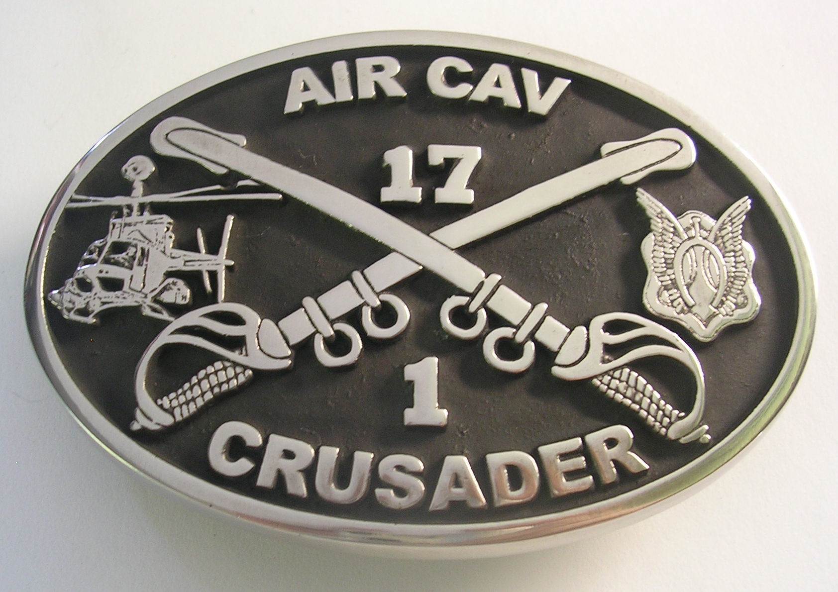 1-17 Crusader Belt Buckle