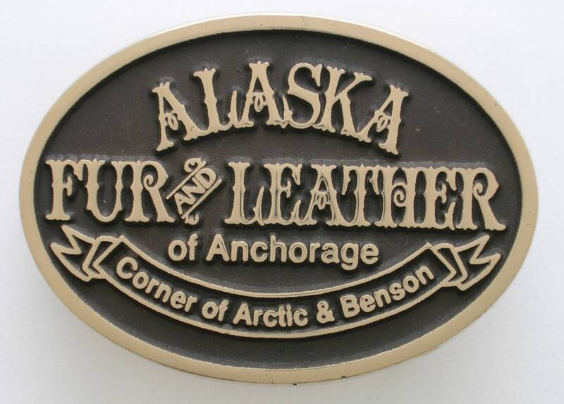 Alaska Fur and Leather Buckle