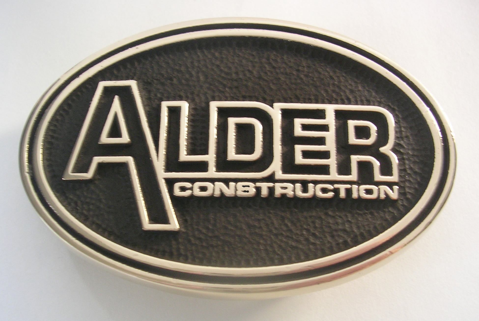 Alder Construction Belt Buckle