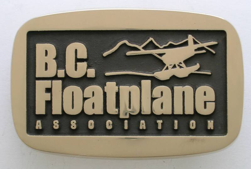 BC Floatplane Association Buckle