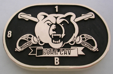 Bear Cav Belt Buckle