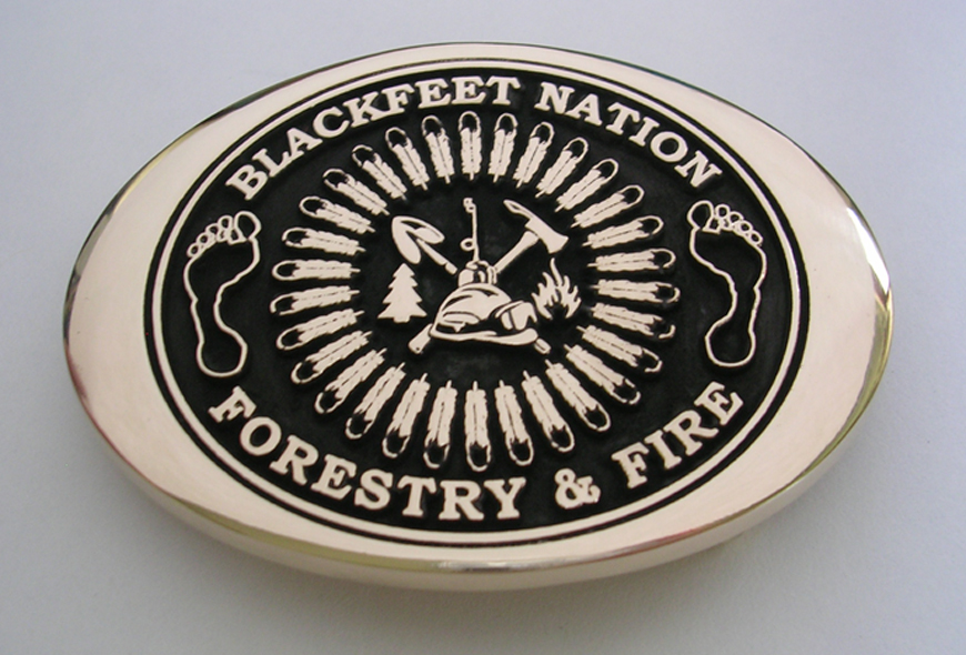 Forestry and Fire Buckle