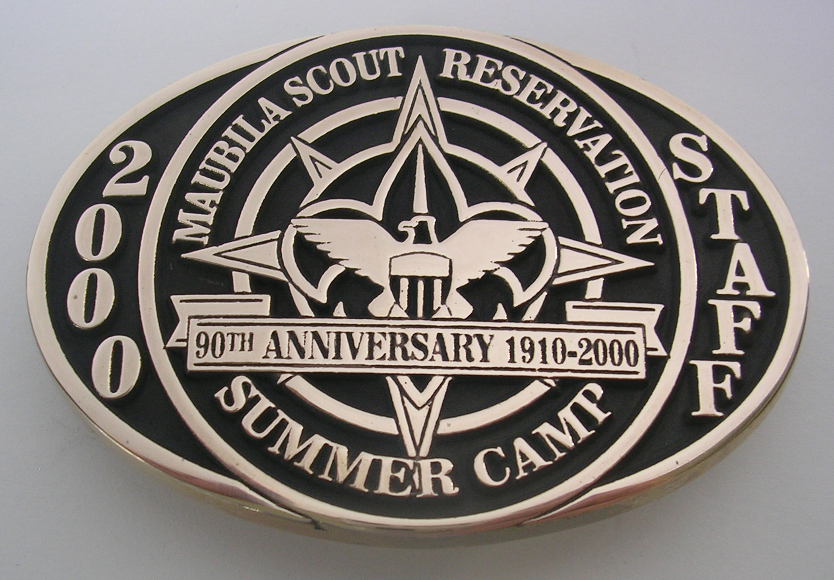 Custom Boy Scouts Buckle
