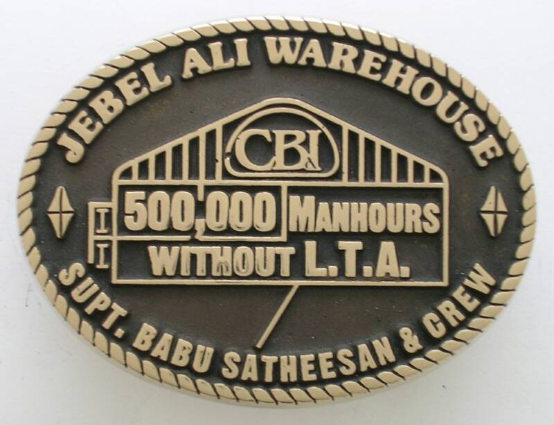 Jebel Ali Warehouse Buckle