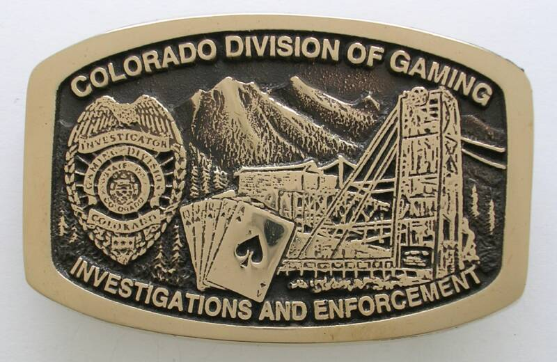Colorado Gaming Buckle