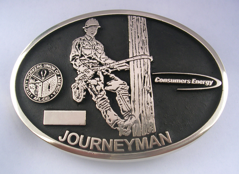 Consummers Energy Belt Buckle