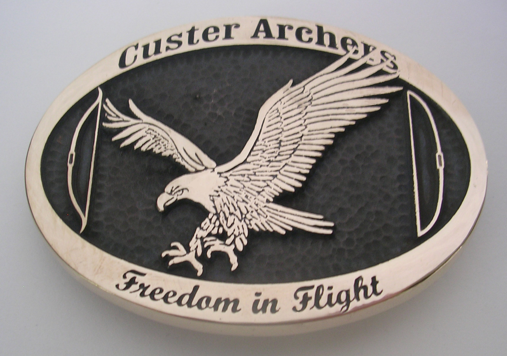 Archery Belt Buckle