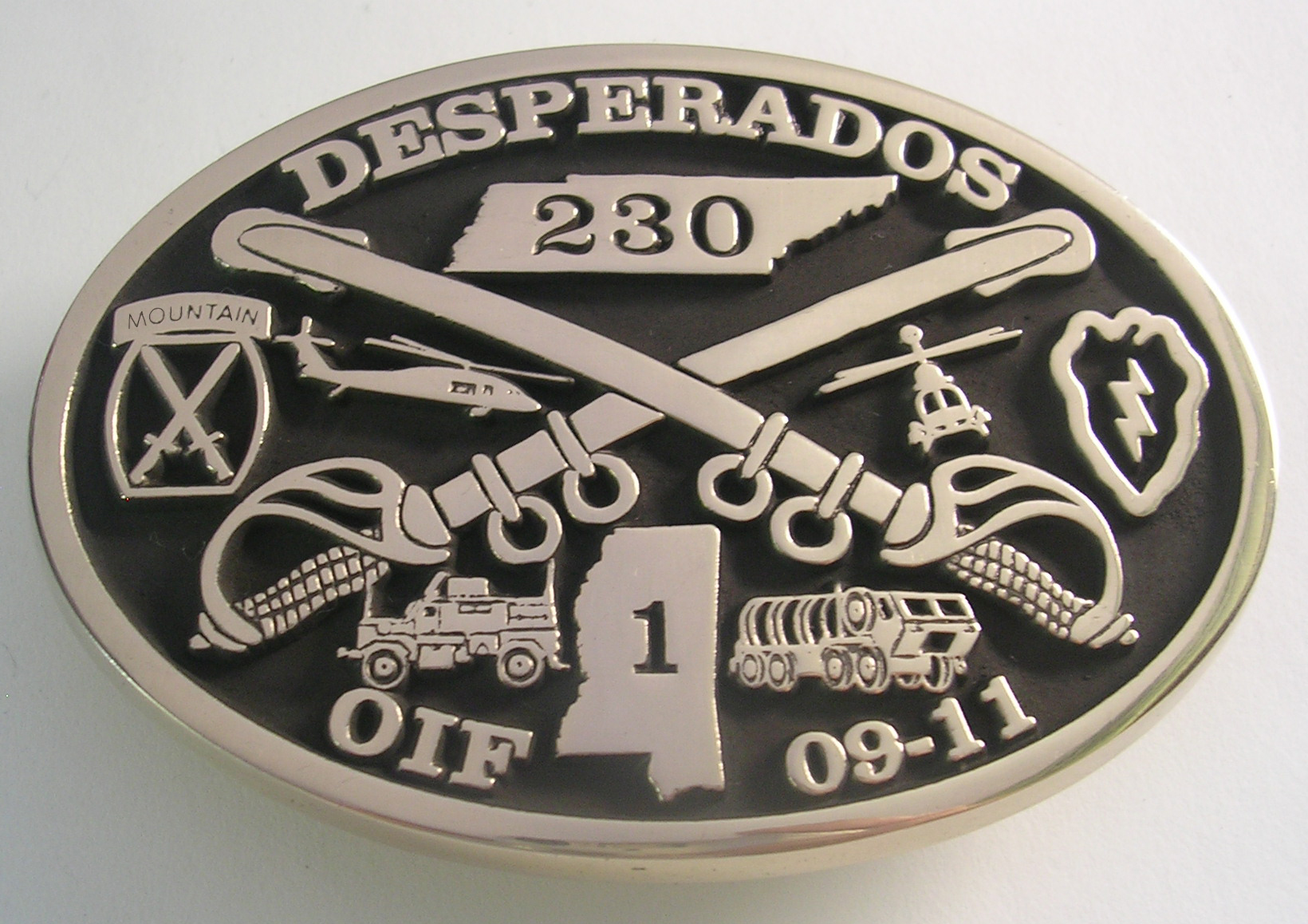 Desperados Belt Buckle
