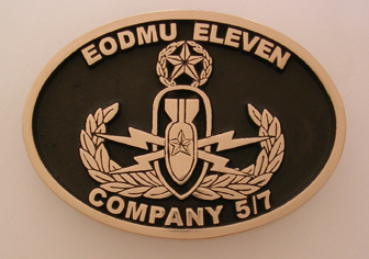 EOD Belt Buckle