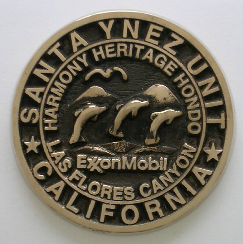Santa Ynez Unit Medallion