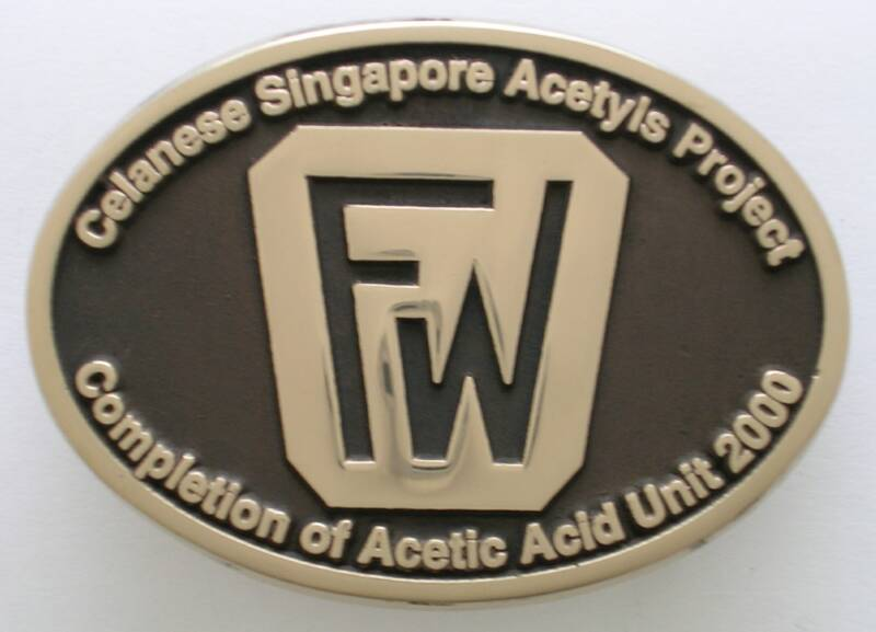 Foster Wheeler Project Buckle