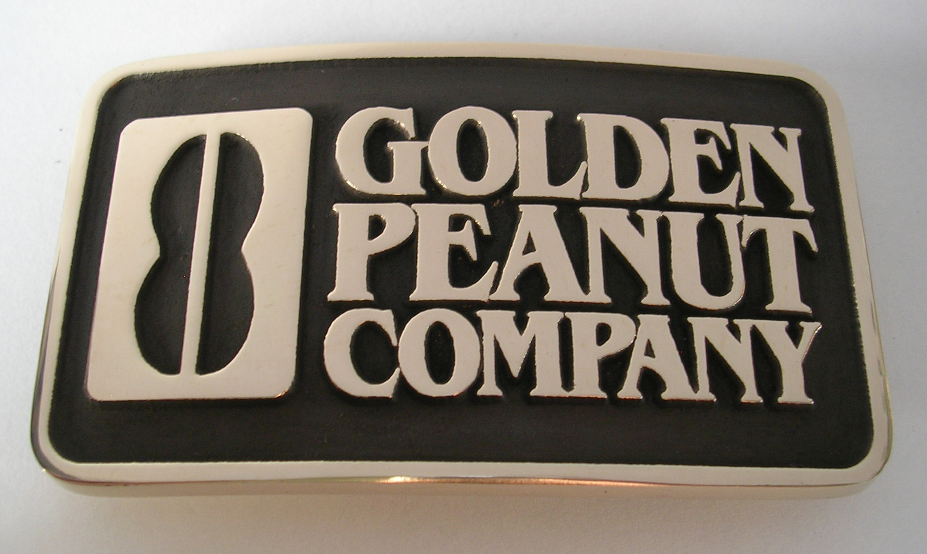 Golden Peanut Company Belt Buckle