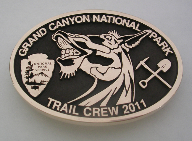 Grand Canyon National Park buckle