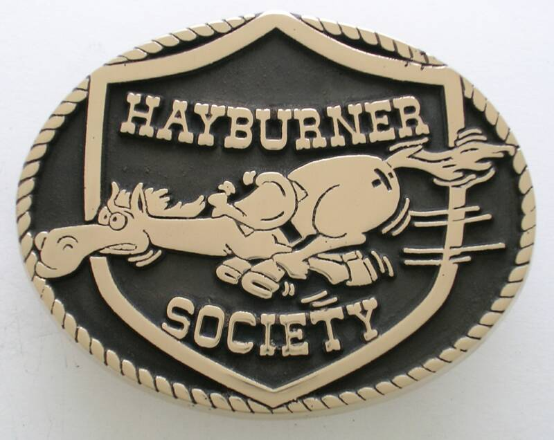 Hayburner Society Buckle