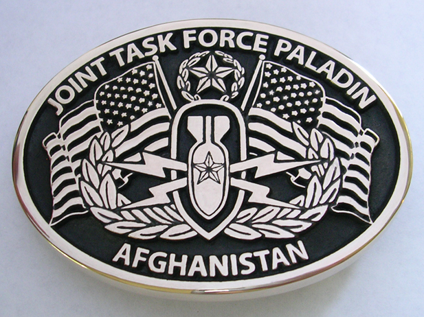 Joint Task Force Paladin Belt Buckle
