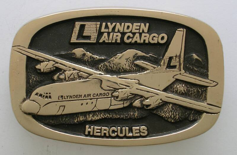 Lynden Air Cargo Buckle