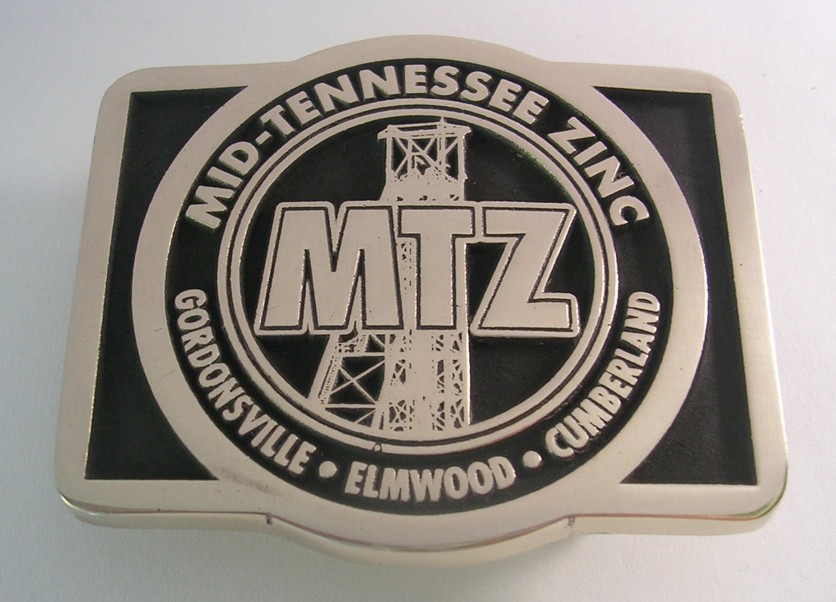 Tennessee Custom Brass Belt Buckle