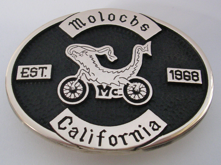 Molochs MC Buckle