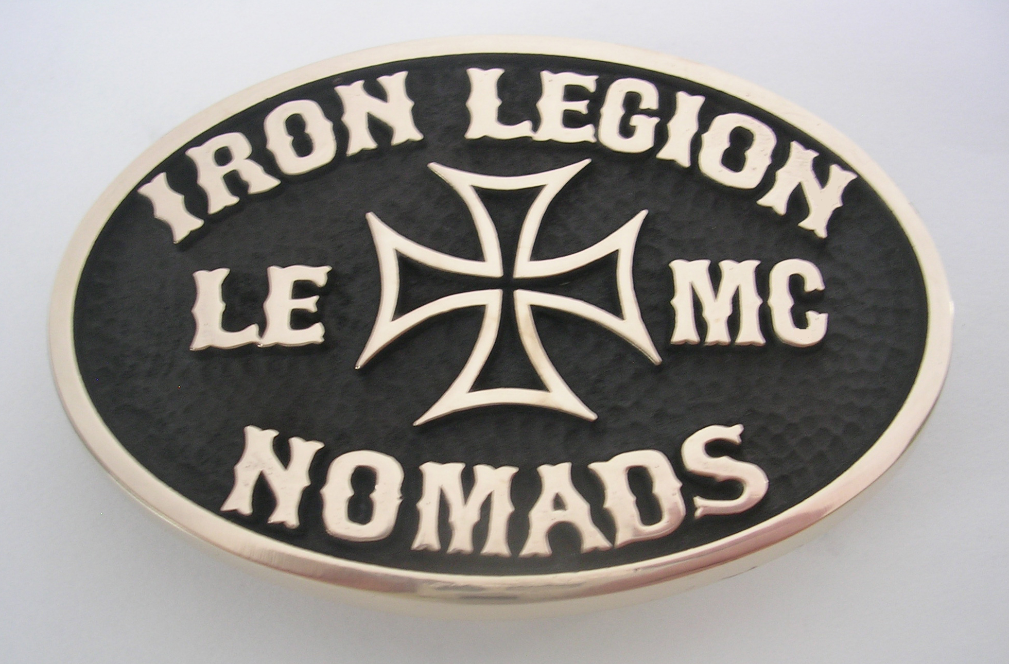 Iron Legion Nomads MC Buckle