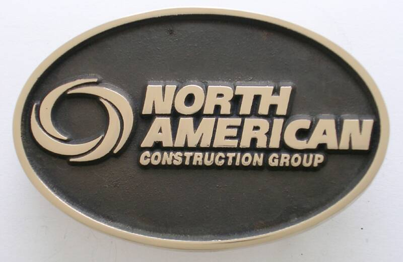 North American Construction Group Belt Buckle