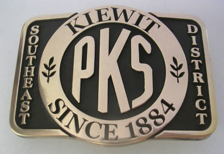 PKS Solid Brass Buckle