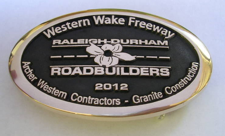 Granite Construction Belt Buckle