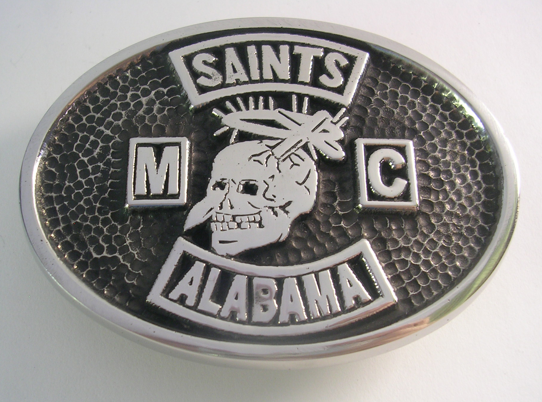Saints Motorycycle Club Belt Buckle