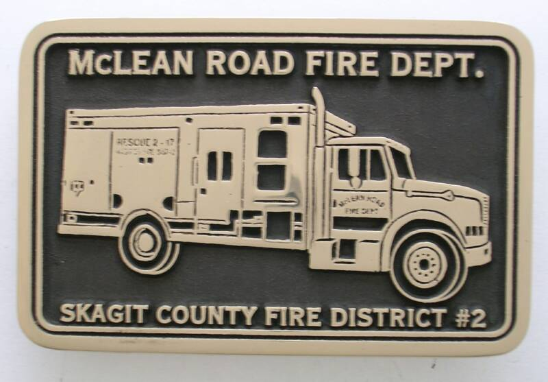 Skagit County Fire Buckle
