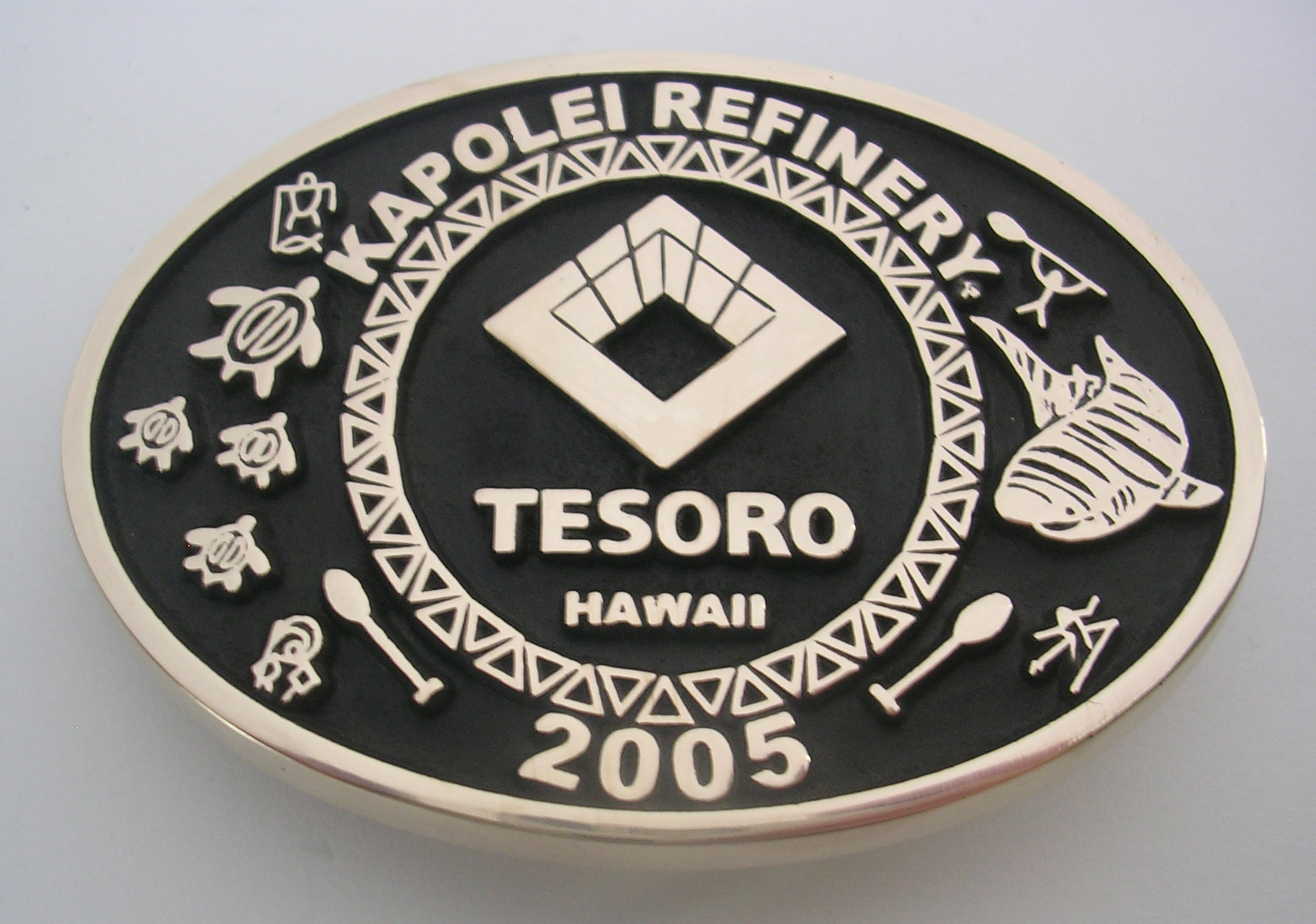 Tesoro Hawaii Belt Buckle