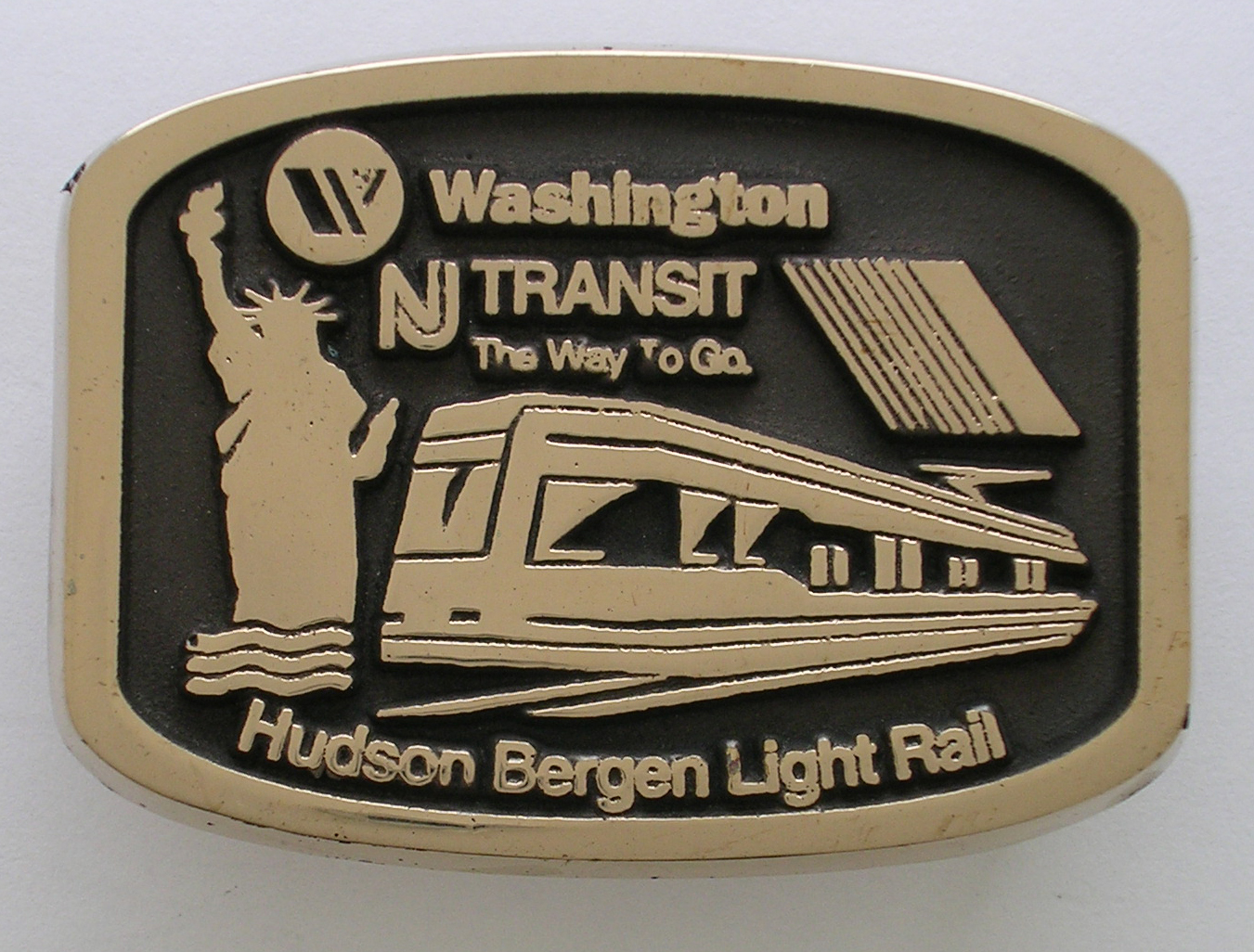 NJ Transit Buckle