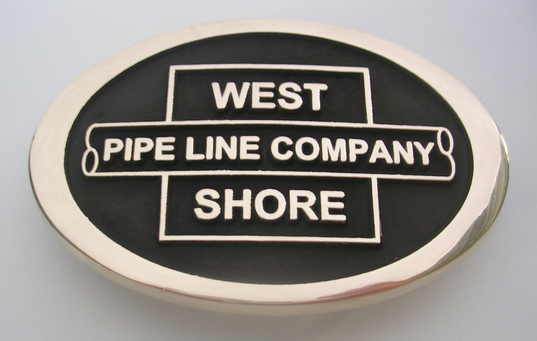 West Shore Pipe Line Buckle