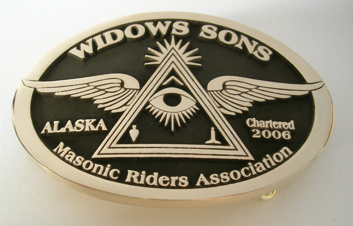 Widows Sons MC Buckle