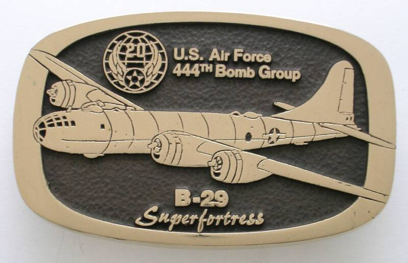 B-29 Superfortress Buckle