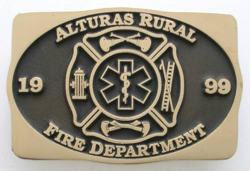 Fire Department Buckle
