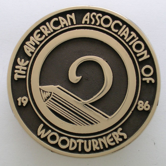 American Association of Woodturniers Buckle