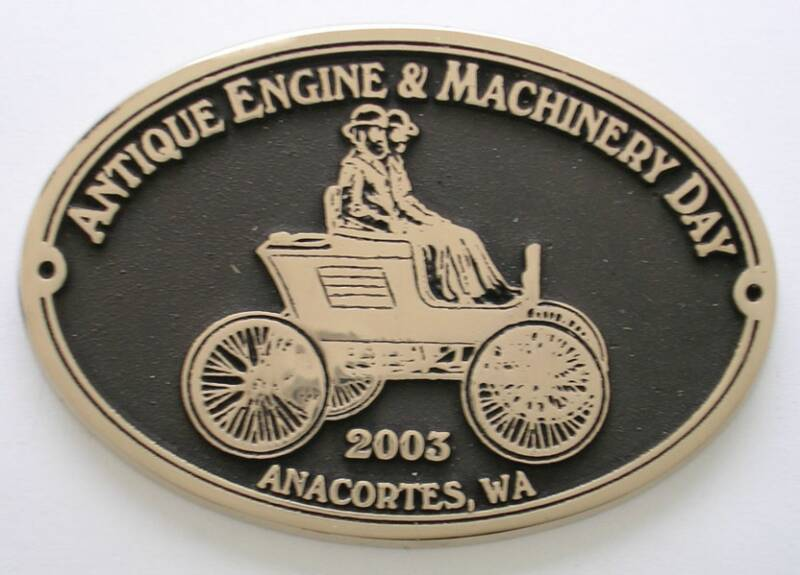Anacortes Brass Buckle Custom