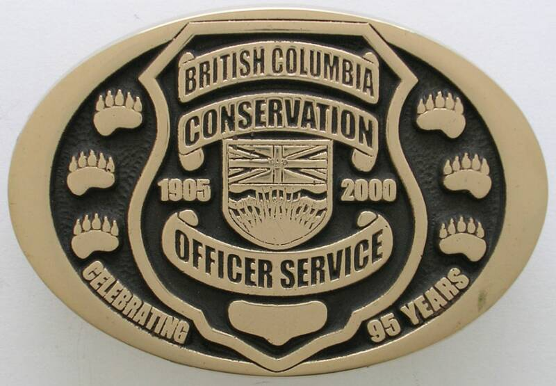 Conservation Officer Buckle