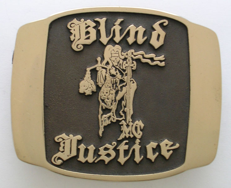 Blind Justice Buckle