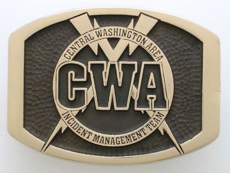 Central Washington Incident Management Buckle