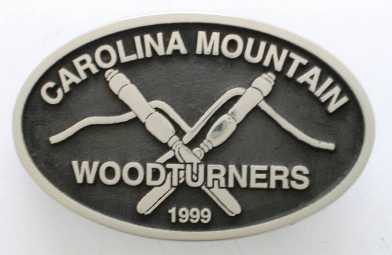 Carolina Mountain Woodturners Custom Belt Buckle