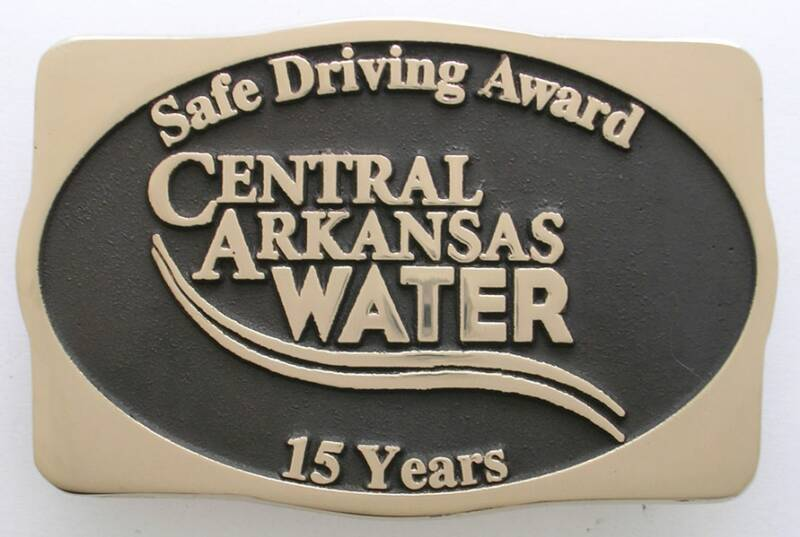 Central Arkansas Water Buckle