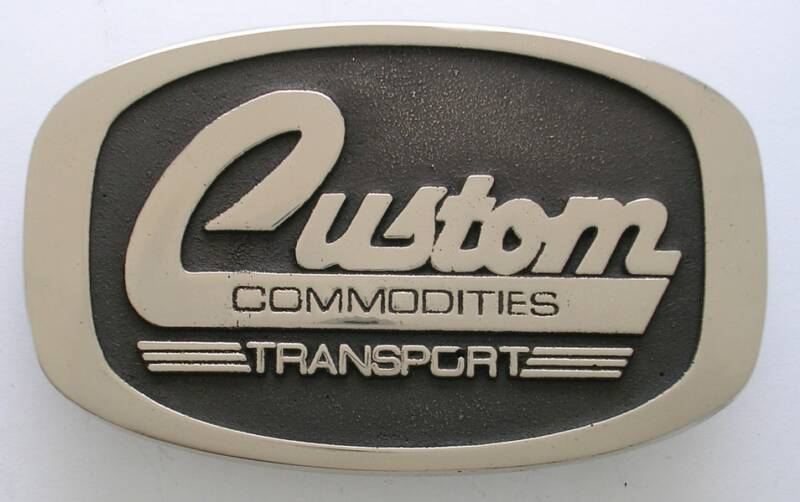 Custom Commodities Buckle