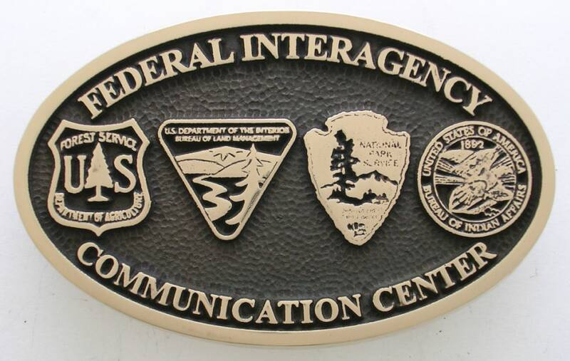 Federal Interagency Communication Buckle