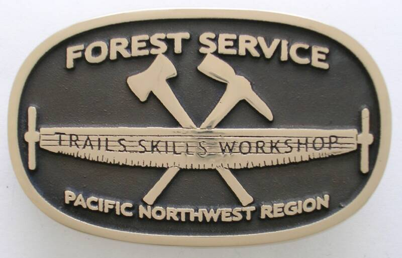 Forest Service Buckle