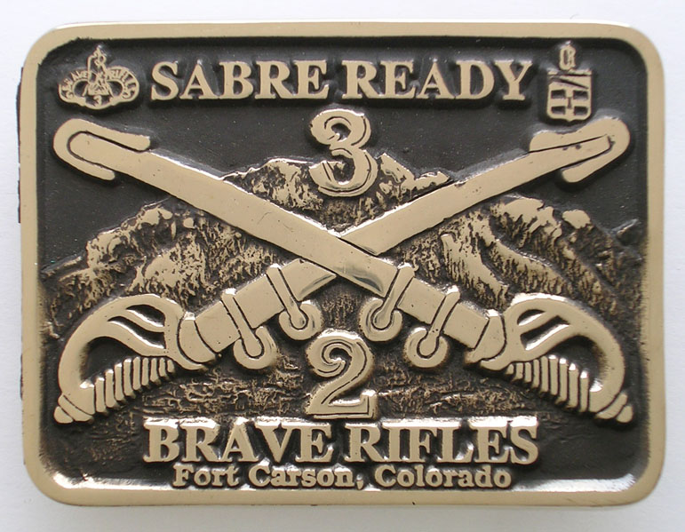 Fort Carson Buckle
