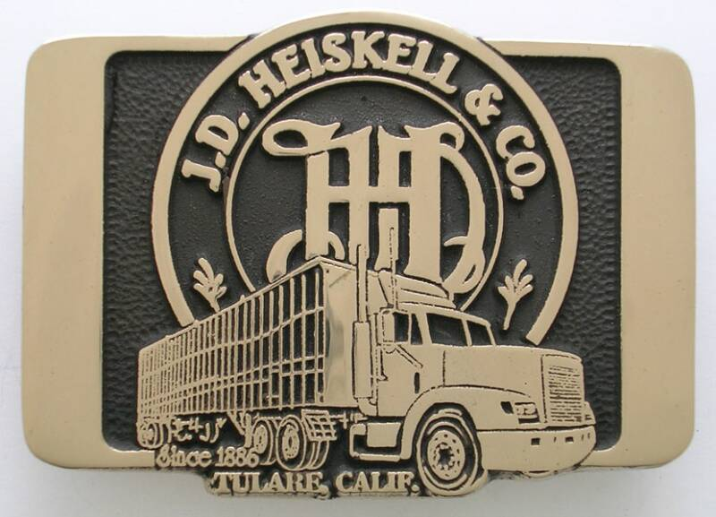 J.D. Heiskell Trucking Buckle
