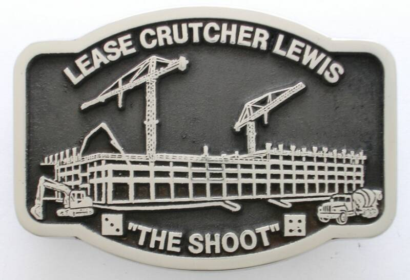 Lease Crutcher Lewis Belt Buckle